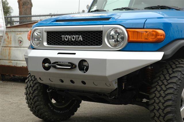 Aluminum Fj Cruiser Bumpers : Fj cruiser front winch mount bumper