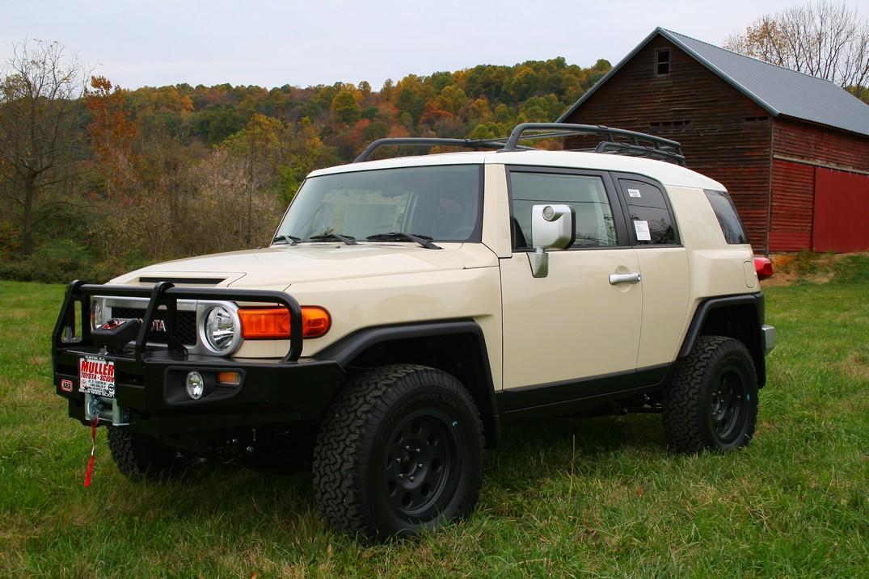 Toyota Fj Cruiser Bds Lift Mohave Wheels Arb Bumper
